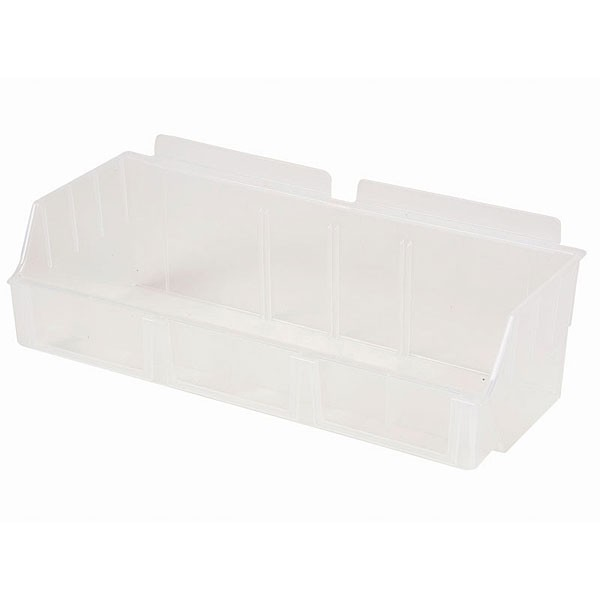 Assorted Slatwall Boxes Clear 1