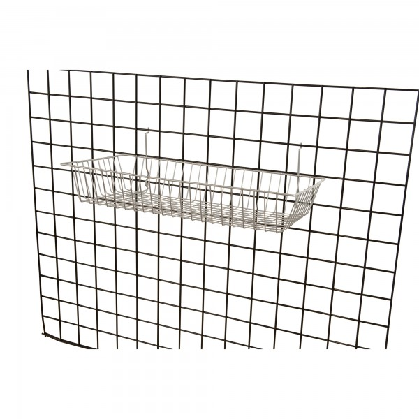 Assorted Grid/Slatwall Basket Chrome 2