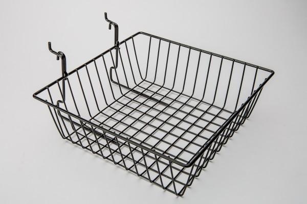 Assorted Gridwall, Slatwall, Pegboard Baskets Black 7