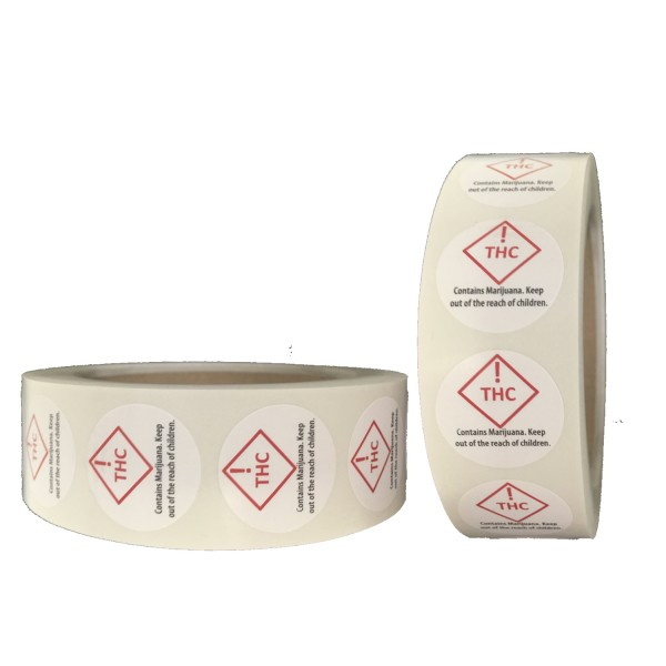 Colorado Compliant REC Labels 1,000 per roll
