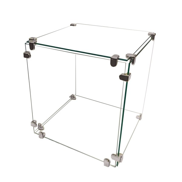 "Glass Cube Display 16"" x 16"""