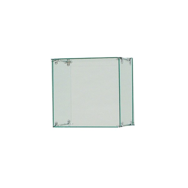 "Glass Cube Display 14"" x 14""  5"
