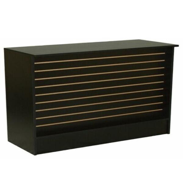 Black Slatwall Checkout stand