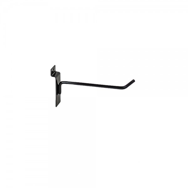 "Slat Hook Black 4"" 96"