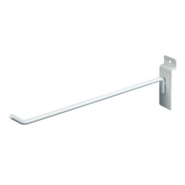 Slatwall Hook White 6