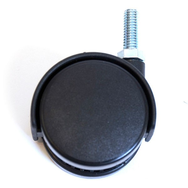 Caster 3/8 Thread Black