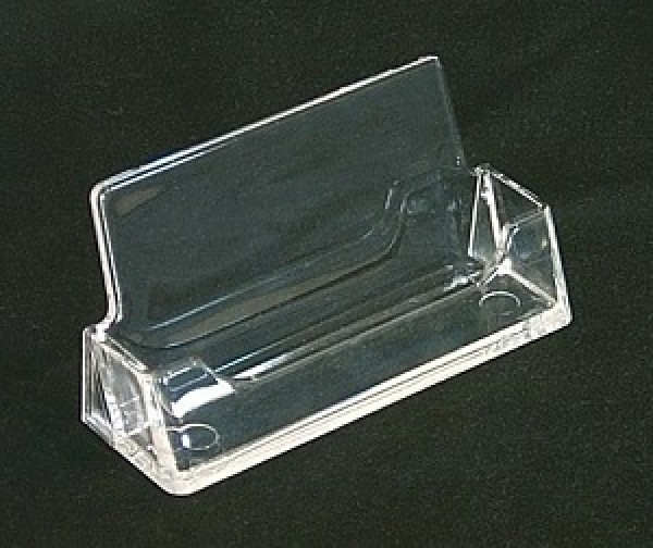 Business Card Holder Single Clear 2