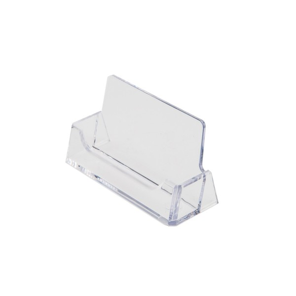 Business Card Holder Single Clear