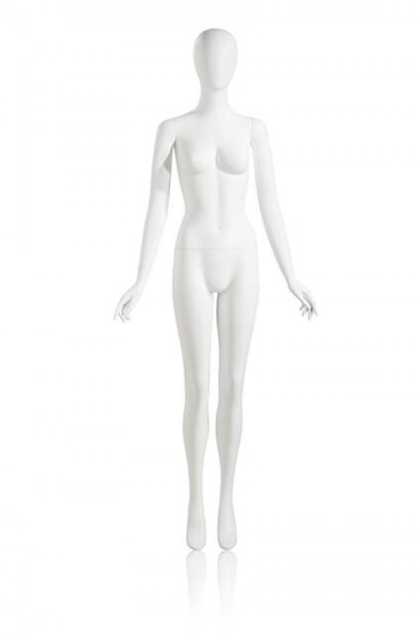 Female Mannequin Arms by Side