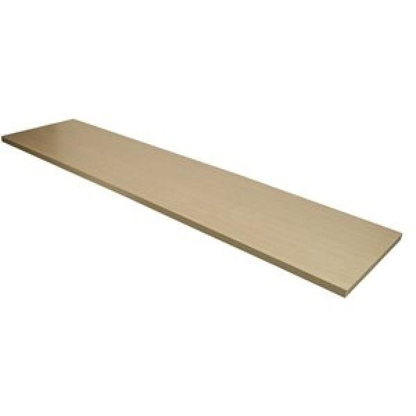 """Wood Shelf Maple Melamine 12"""" x 48"""""""