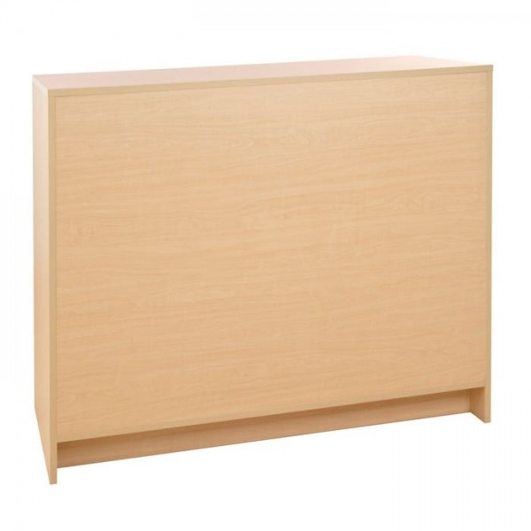 Checkout Counter Maple 6ft