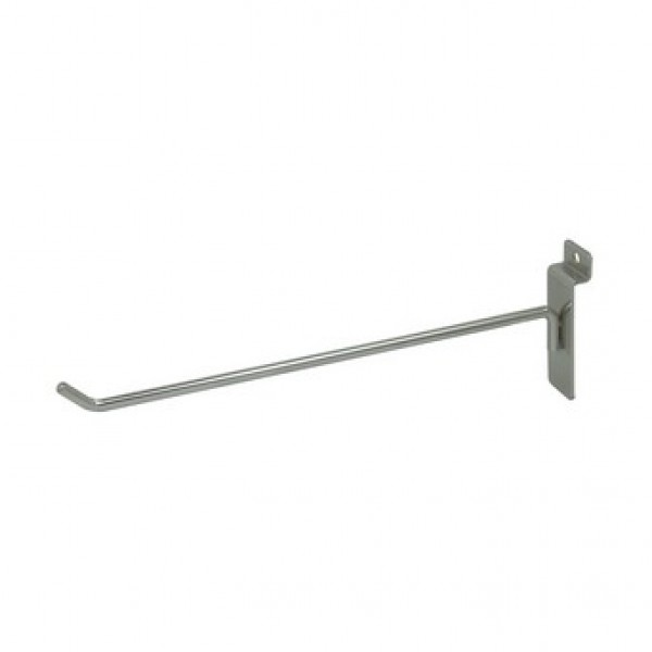 "Slat Hook Chrome 12"" 2"
