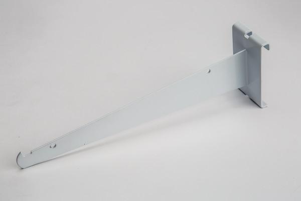 """Gridwall Shelf Bracket 10"""" White"""