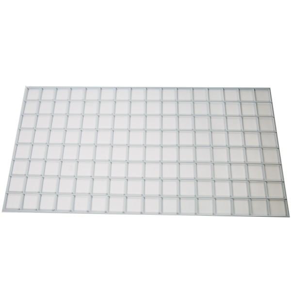 Gridwall 2' x 8' White: WTE28