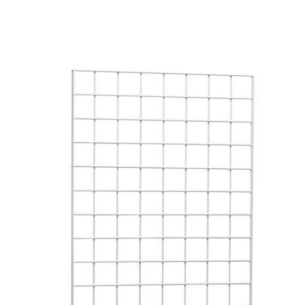 Gridwall 2' x 5' White: WTE25