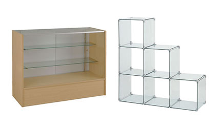 Glass Display Cases Counter Displays